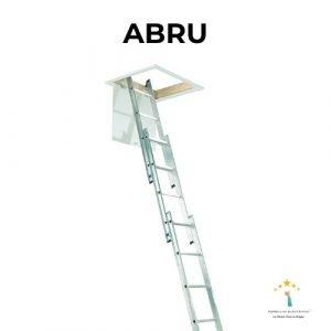 escalera de aluminio abru