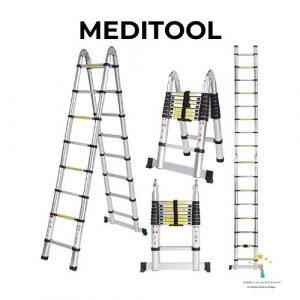escalera de aluminio meditool