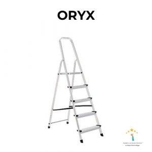 escalera de aluminio oryx